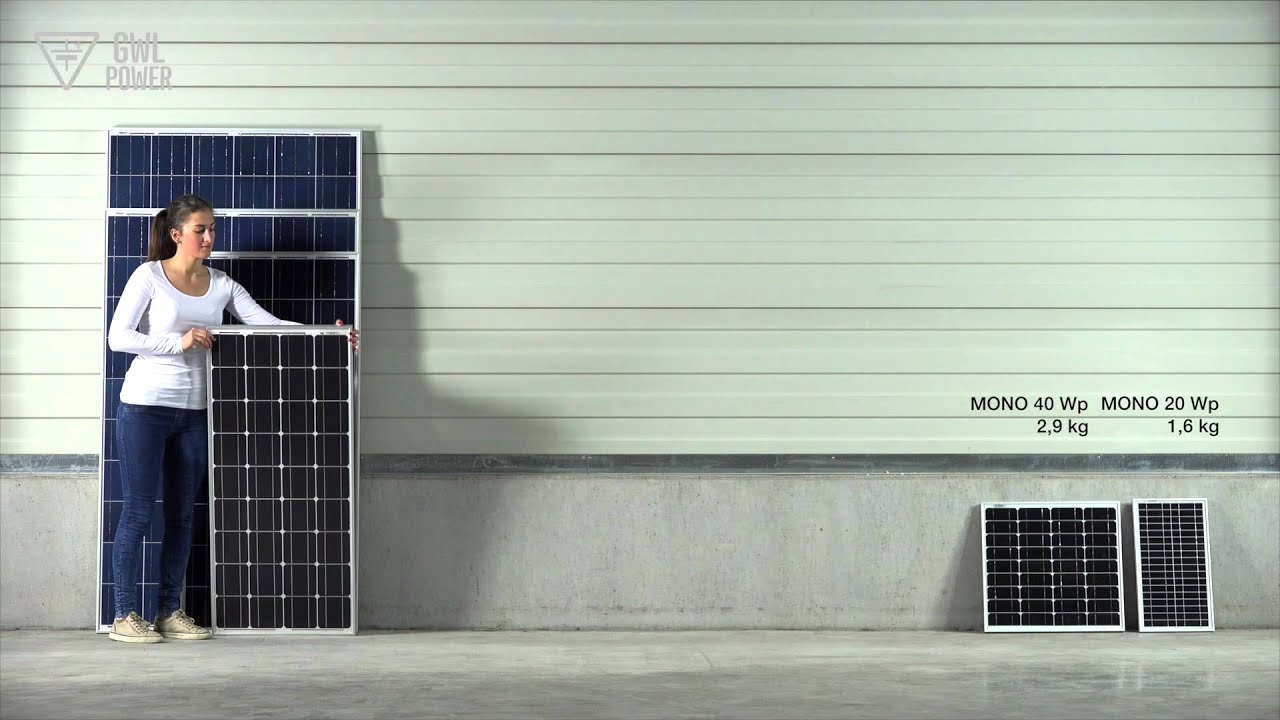 Solar Panel Size Weight Velikost A Vha Youtube