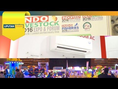 LIPUTAN EVENT - Indo Livestock, Indo Building, Fun Asia 2016