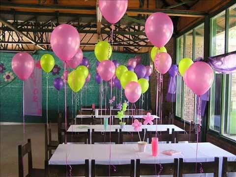 Como cobrar decoraci n globos con helio youtube - Decoracion de globos ...