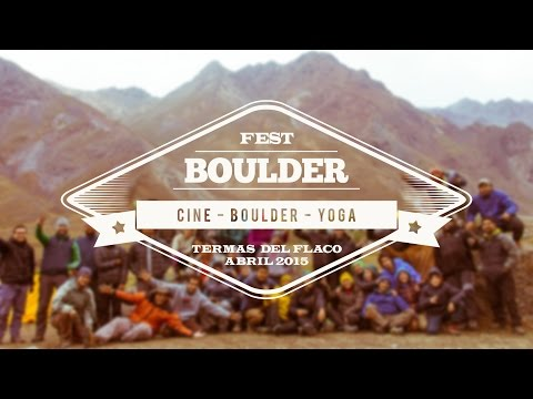 1er Boulder Fest - Termas del Flaco (San Fernando)