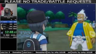 Pokemon Moon Any% Speedrun (5:54:09 RTA)