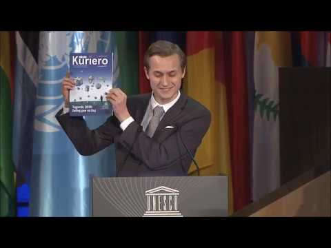 UNESCO, General Conference, 39th Session, 6.11.2017, Rakoen Maertens, UEA, TEJO