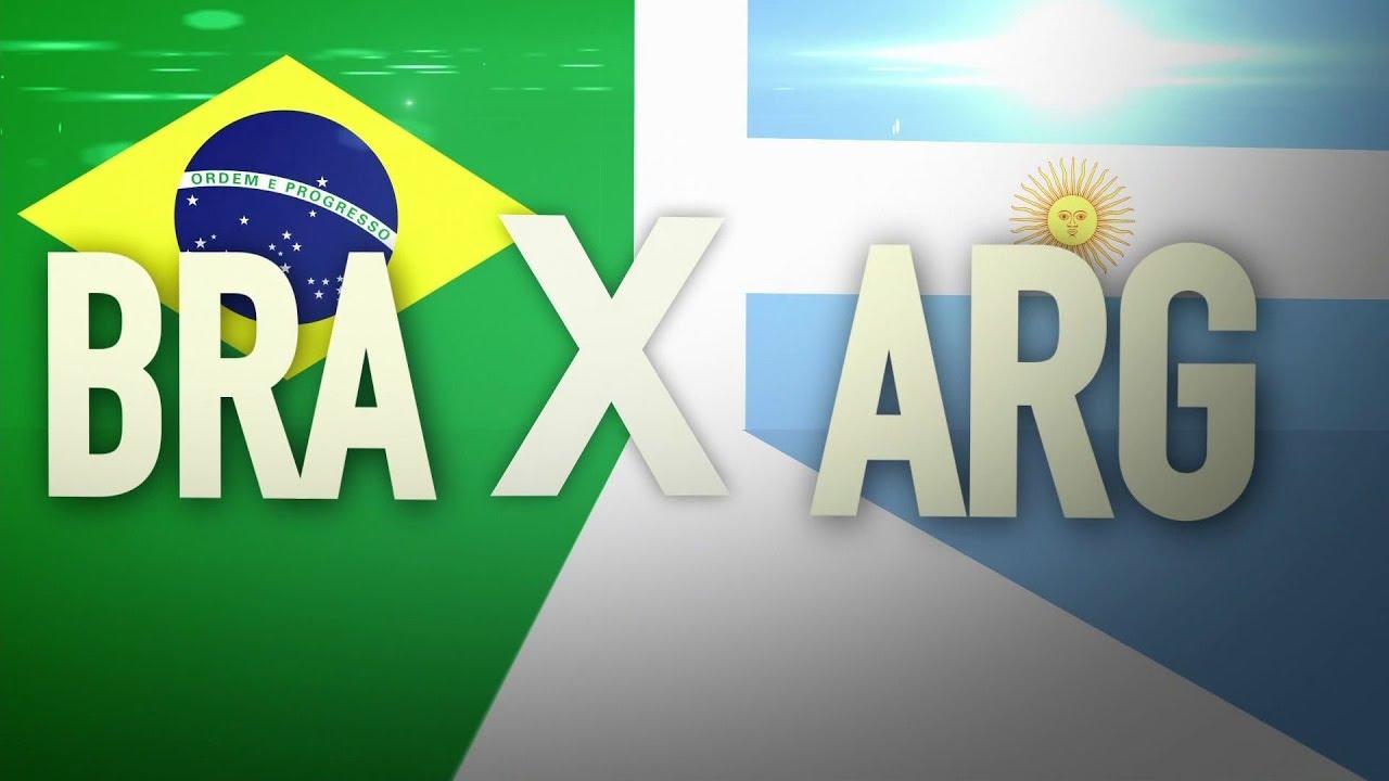 Chamada do amistoso entre Brasil x Argentina na Globo (16 10 2018 ... b1dc5ee38a6e5