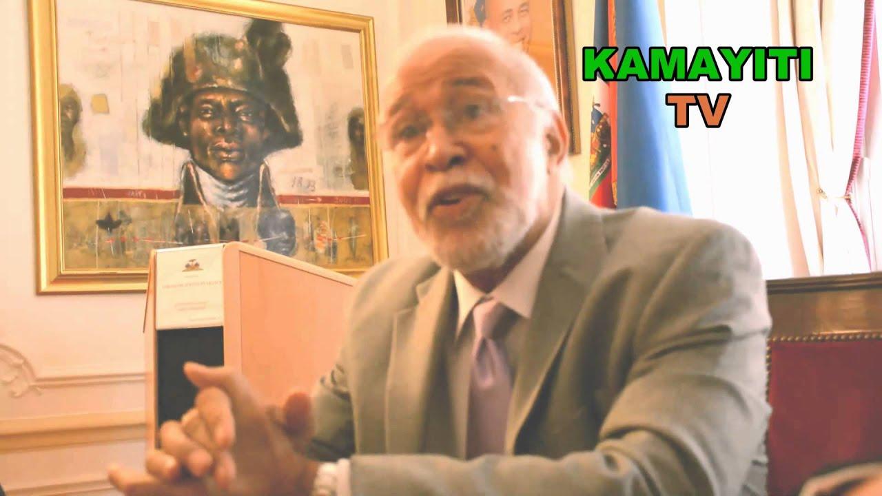 Le ministre de la diaspora  Robert Labrousse à Paris