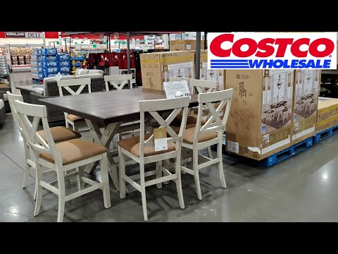 Costco  NEW * HOME FURNITURE TABLES CHAIRS HOME IDEAS WALKTHROUGH 2020