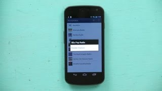 How to Remove Radio Stations in Pandora on a Droid : Android Tips