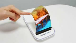 Teléfono móvil flexible con pantalla de Grafeno