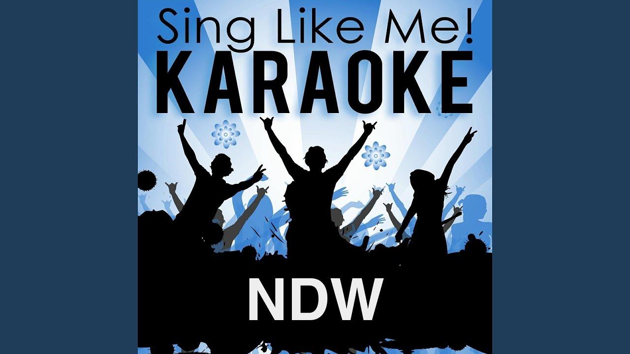 Neue Männer Braucht Das Land Karaoke Version With Guide Melody
