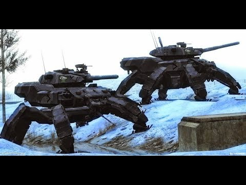 Russian Army Alien Tech Terminator Robots Cyborgs To Crush US Military. Don't Believe? Watch This.