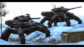 Russian Army Alien Tech Terminator Robots Cyborgs To Crush US Military. Don't Believe? Watch Th