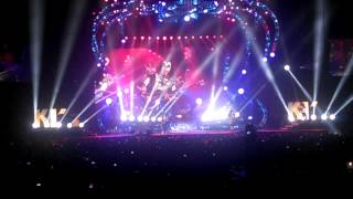 KISS !!! Live in Des Moines, Iowa. 2014.