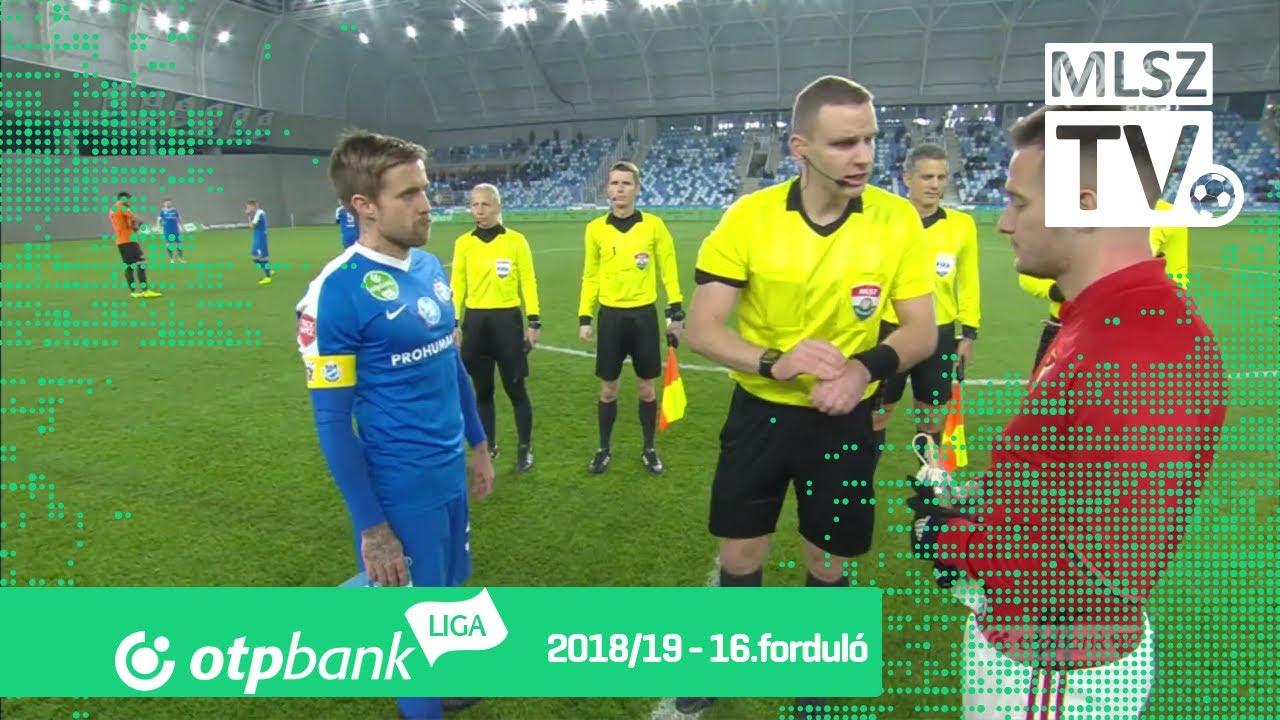 MTK Budapest – DVSC | 0-1 | (0-1) | OTP Bank Liga | 16. forduló | MLSZTV