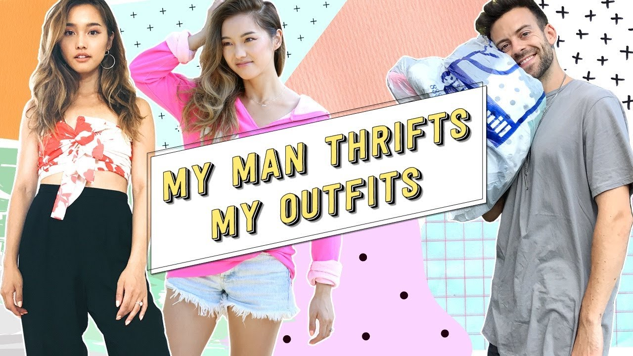 [VIDEO] – My Man Thrifts My Outfits