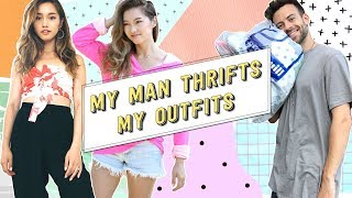 My Man Thrifts My Outfits