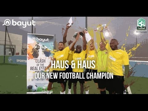 Bayut Hosts a Smashing Football Tournament for Top UAE Realtors