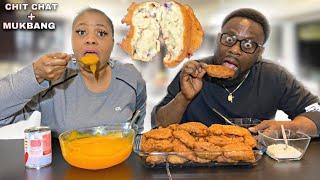 Nigerian Family Youtubers | Nigerian Food Mukbang | AKARA with AKAMU/CUSTARD BREAKFAST MUKBANG