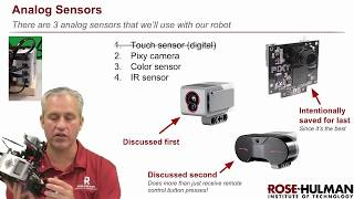 Python ev3dev - 04 Analog Sensors - 01 Analog Sensor Overview