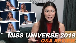 MISS UNIVERSE 2019 Q&A REVIEW | NICOLE CORDOVES