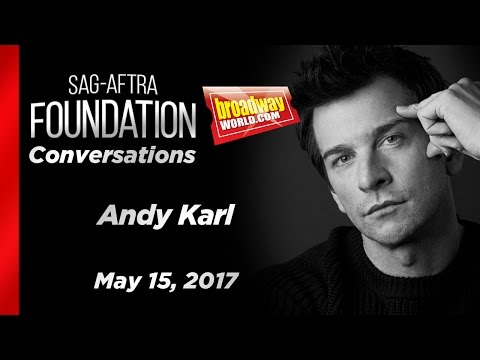 Conversations on Broadway: Andy Karl