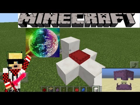 🙌Tutorial Membuat Lampu Disco | Minecraft Pe | With Shulker..