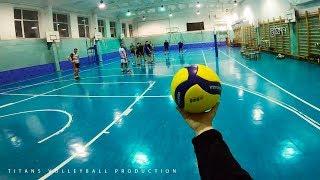 Волейбол от первого лица | VOLLEYBALL FIRST PERSON | BEST MOMENTS | Highlights | 4 episode | POV