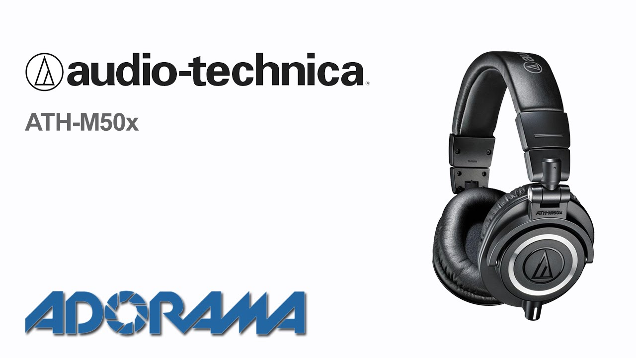 Audio Technica Ath M50x Product Overview With Marcin Lewandowski Audio Technica Audio Technica Headphones Audio