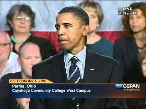 Pr. Obama - Cleveland Ohio (1)