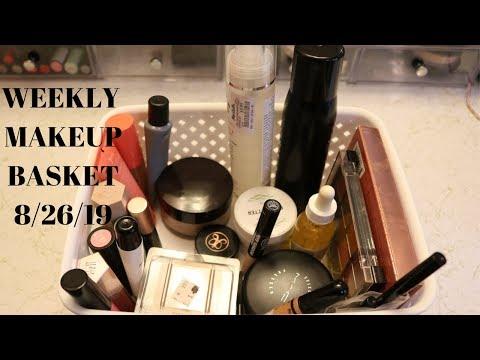 MY WEEKLY MAKEUP BASKET 8/26/19 | HelenasQueendom