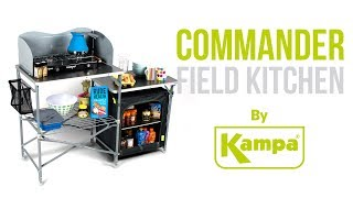 Kampa | Commander Field Kitchen | Product Overview