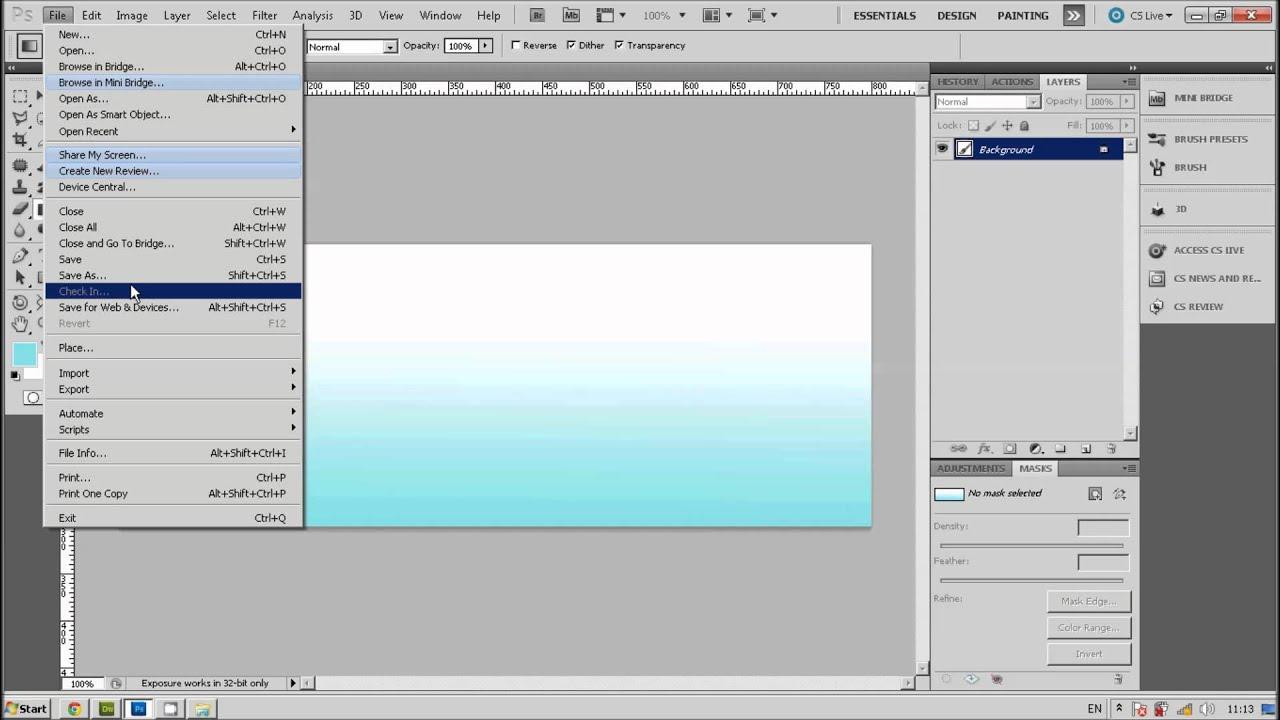 Background image dreamweaver - Ep 2 Dreamweaver Insert Image To Background Table Youtube