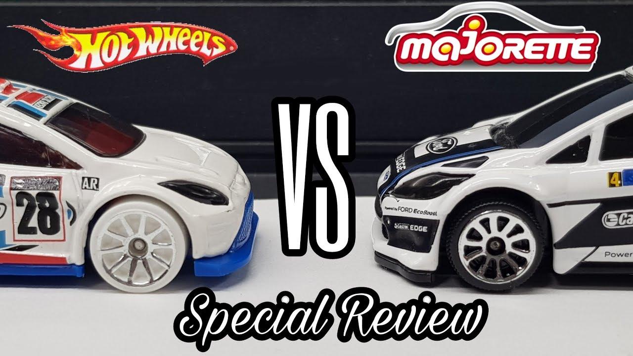 Hot Wheels Vs Majorette 12 Ford Fiesta Manufacturer Comparison
