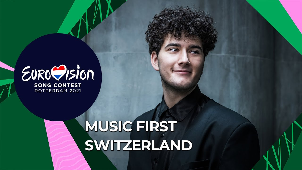 Music First with Gjon's Tears from Switzerland 🇨🇭 - Eurovision Song Contest 2021
