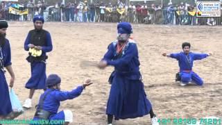 Kubbe (ludhiana) Gatka Show - 2014 By Nihang Singhs.