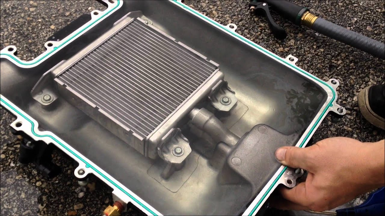 ZL1 Supercharger Cooler Brick Leak YouTube