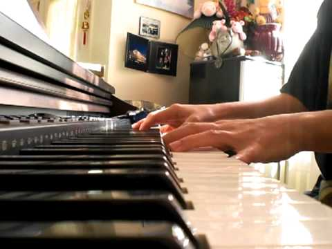 His praise fills the temple piano