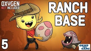 NEW RANCHING UPGRADE BASE #5 - Oxygen Not Included - Puft eggs and Hatch Eggs and New Geysers