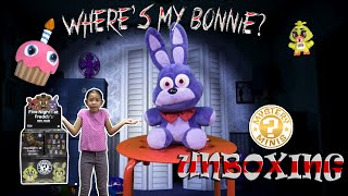 Funko FIVE NIGHTS AT FREDDY'S Mystery Minis Unboxing FNAF POP vinyl figures