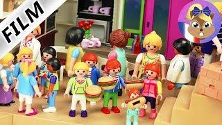 Film Playmobil en français   Fête d'inauguration dans la villa de luxe   Tous les amis sont invités