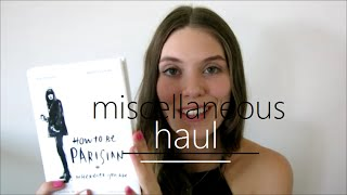 Miscellaneous Haul | Lorna Jane, Beach People, Book Depository