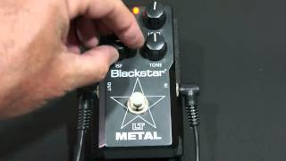 Testing the Blackstar LT Metal Pedal