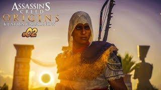 WALKA Z NEFERTITI! | Assassin's Creed Origins: The Curse of the Pharaohs DLC #2 | Vertez