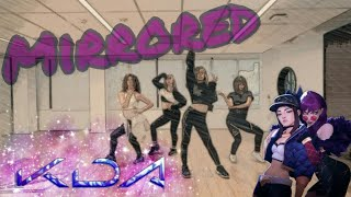 [Mirrored] K/DA - POP/STARS Dance - Behind the Scenes | LoL Dance Choreography