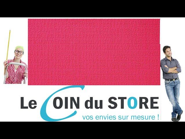 Toile PVC pour pergola et store Soltis Perform 92 Grenadine rouge rose 50268 Serge Ferrari