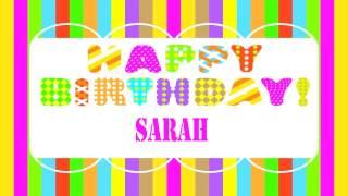 Sarah   Wishes & Mensajes - Happy Birthday