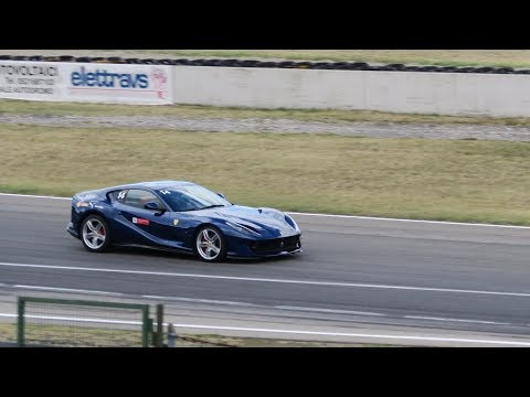 Ferrari 812 Superfast on Track
