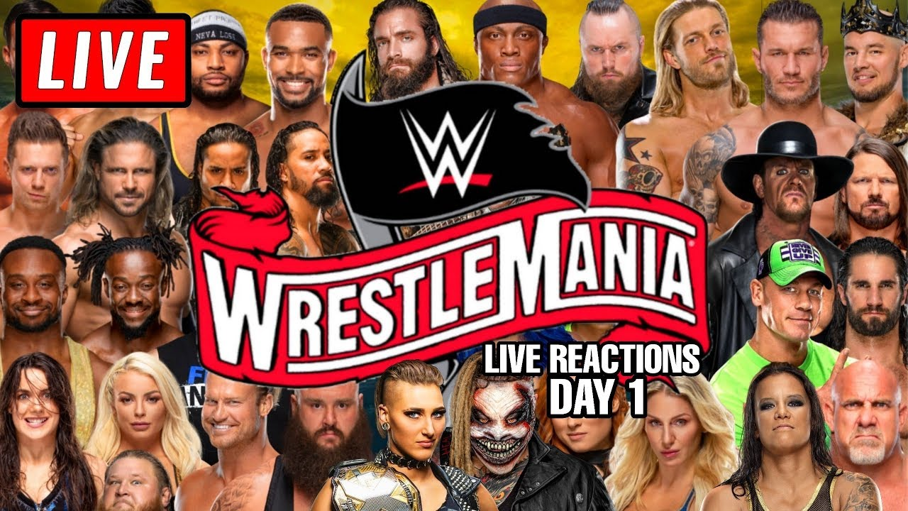 WWE WrestleMania 36 Day 2: How and when to watch, who's on the ...