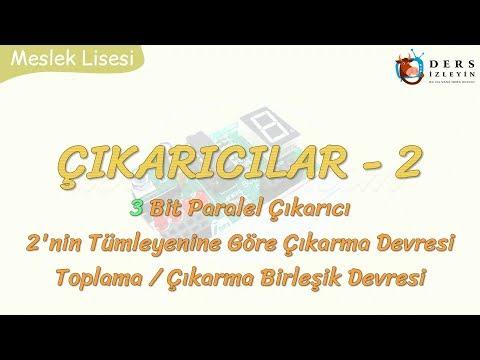ÇIKARICILAR - 2 3 BİT PARALEL ÇIKARICI - 2