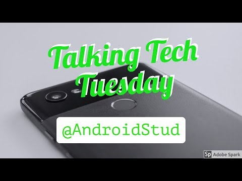 Talking Tech Tuesday-CES, Smart Displays, AT&T cancels Huawei Deal.