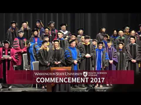 WSU Spokane Commencement 2017