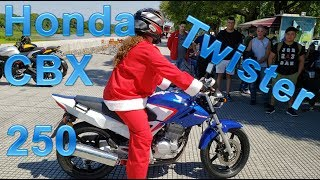 review Honda CBX 250 Twister
